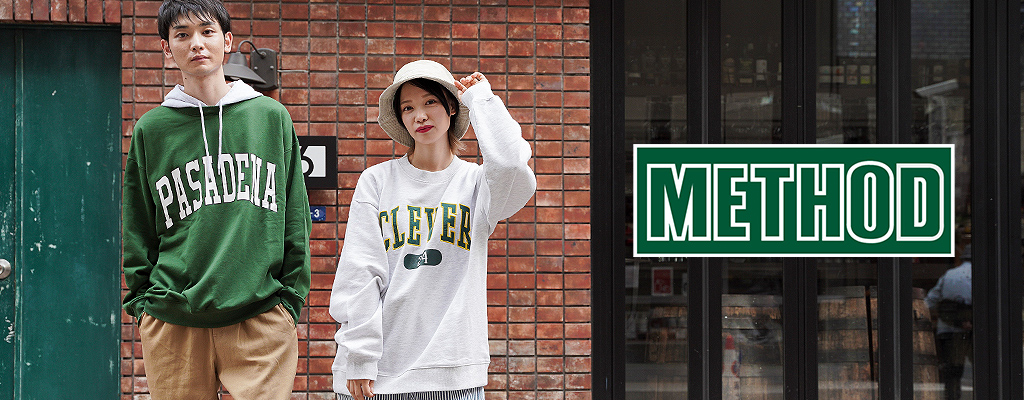 METHOD 公式通販サイト   カジュアルファッション・小物通販